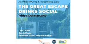 The Great Escape Drinks Social - Hosted by MPA, MIB &...