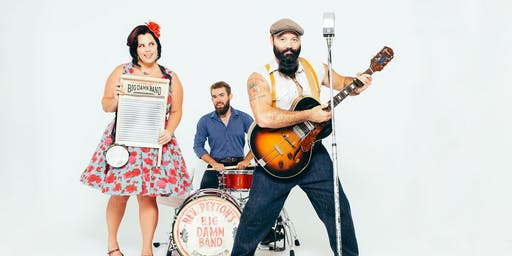 Reverend Peyton's Big Damn Band with Ryan Chrys & The Rough Cuts and Tracksuit Wedding