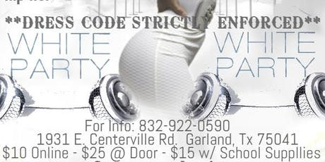 TCCF ALL WHITE PARTY 2019 tickets