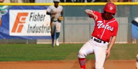 Summer Baseball Camp July 22nd-25th Kelowna tickets