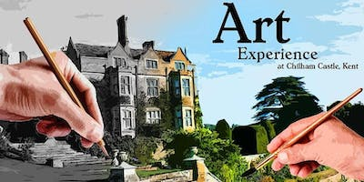 Art experience at Chilham Castle, Kent