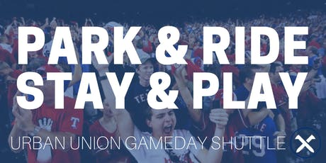 Urban Union Gameday Shuttle tickets