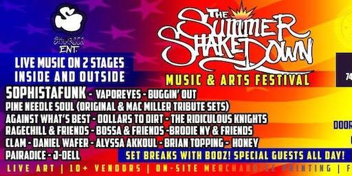 Shamrock ENT. Presents: The Summer Shakedown Music & Arts Festival
