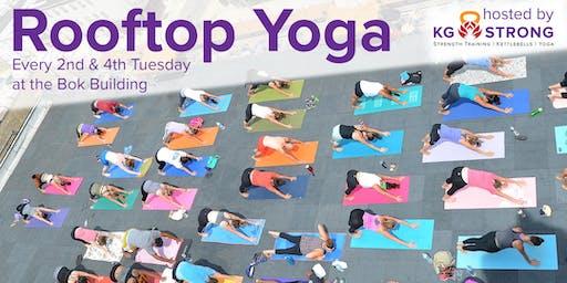 Bok Rooftop Yoga