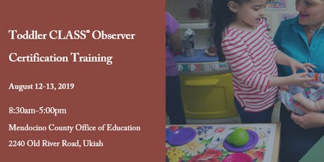 Toddler CLASS® Observer Certification Training tickets