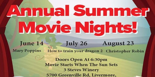The Karen Bartholomew Team's Annual Summer Movie Nights!