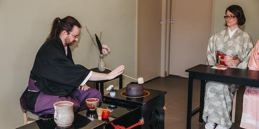 2:15PM - Japanese Tea Ceremony - Ryurei
