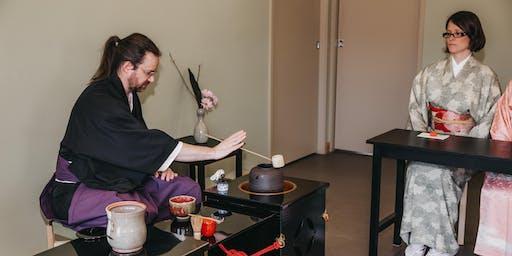 12:45PM - Japanese Tea Ceremony - Ryurei