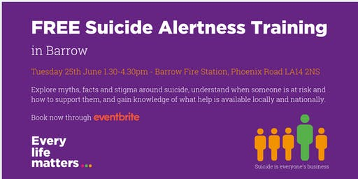 Suicide Alertness Training - Barrow