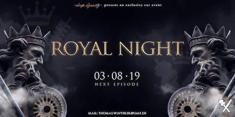 Royal Night 2019 Tickets