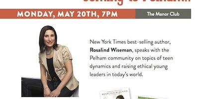 Rosalind Wiseman Comes to Pelham!