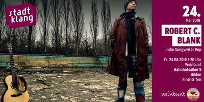 «stadtklang» m. Robert Carl Blank / live at wein