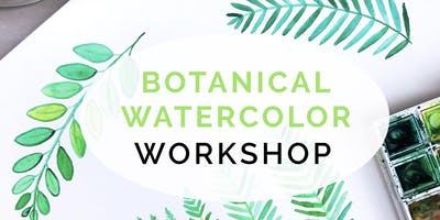 Botanical Watercolor Workshop - Beginner