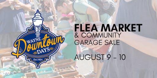 Wayne Downtown Days Flea Market