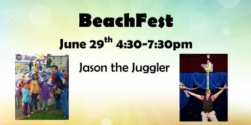 Jason the Juggler @ BeachFest!