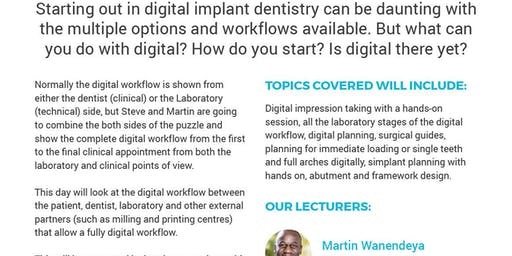 The Digital implant workflow
