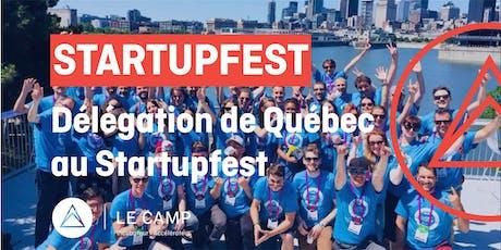 Délégation de Québec au Startupfest 2019 tickets