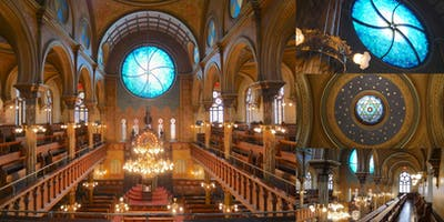 After-Hours Tour @ Eldridge Street Synagogue with Rare Artifacts Showcase