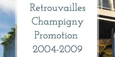 Retrouvailles Champigny Promotion 2004-2009