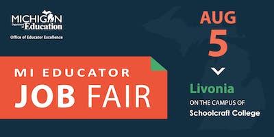 Educator Workforce Job Fair - Livonia