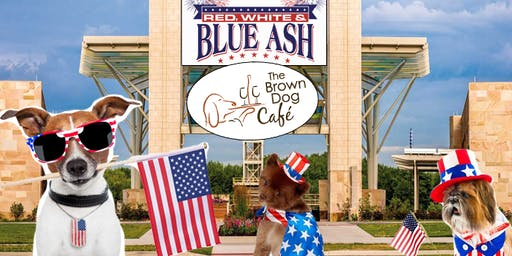 Red, White, and Blue Ash at The Brown Dog Cafe