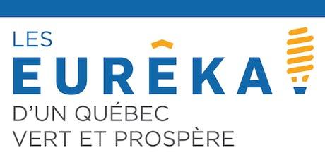 Les Eurêka! d'un Québec vert et prospère billets