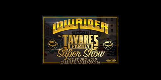 Lowrider Tavares Family Car Club Super Car Show & Concert