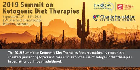 Engagement Opportunities at the 2019 Summit on Ketogenic Diet Therapies tickets