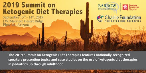 Engagement Opportunities at the 2019 Summit on Ketogenic Diet Therapies