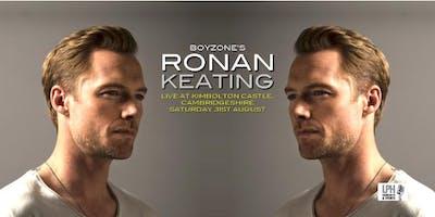 Ronan Keating Live at Kimbolton Castle