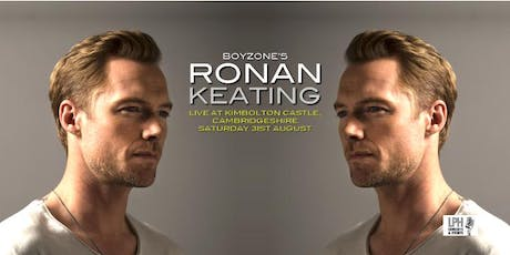 Ronan Keating Live at Kimbolton Castle tickets