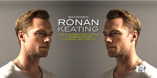 Ronan Keating Live at Kimbolton Castle