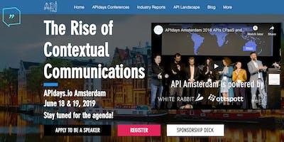 APIdays Amsterdam: The Rise of Contextual Communic