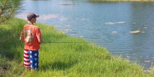 Fishing Fundamentals Camp 2019 (ages 8-12)