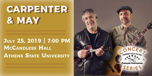 Carpenter & May - Tennessee Valley Old Time Fiddlers Concert Series
