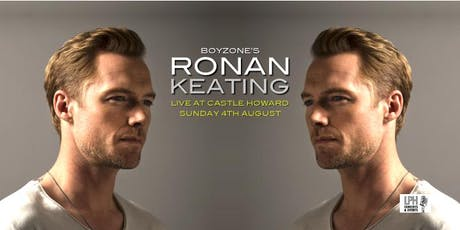 Ronan Keating Live at Castle Howard tickets