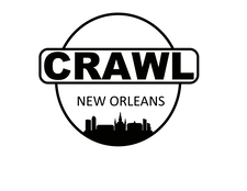 Crawl New Orleans logo