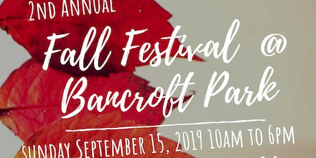 Fall Festival at Bancroft Park tickets