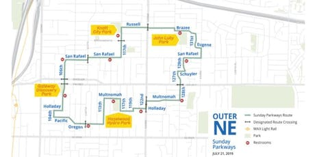 2019 Sunday Parkways - Outer Northeast Portland - Volunteer July 21st tickets
