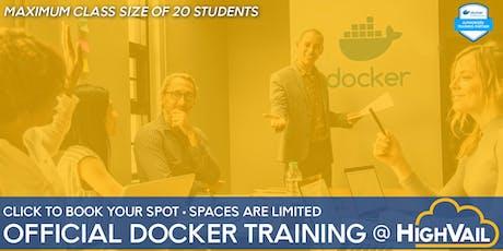 Docker for Enterprise Operations Course - Toronto tickets