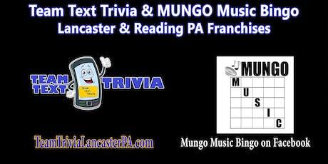 Lancaster Trivia Night, Team Trivia & MUNGO @ American Legion tickets