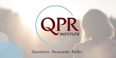 Question Persuade and Refer (QPR) Training [Pasadena City College staff only]