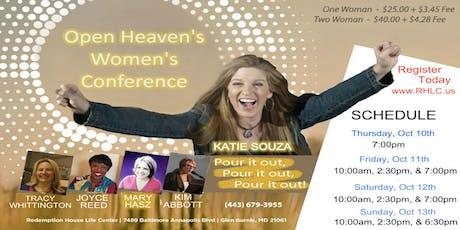 Open Heavens Women's Conference 2019 tickets