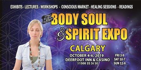 Calgary Body Soul & Spirit Expo (Fall 2019) tickets