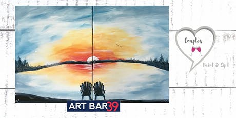 Art Bar 39 Paint and Sip - Couples Paint Night! tickets