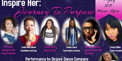 The Woman Within You Presents- Inspire Her: Journey to Purpose Brunch