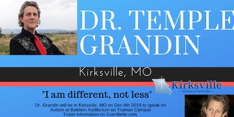 Dr. Temple Grandin on Autism tickets