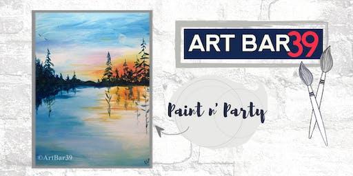 Paint & Sip | ART BAR 39 | Public Event | Land of 10,000 Lakes