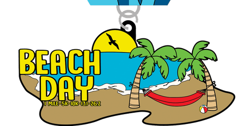 2019 Beach Day 1 Mile, 5K, 10K, 13.1, 26.2 - Charlotte