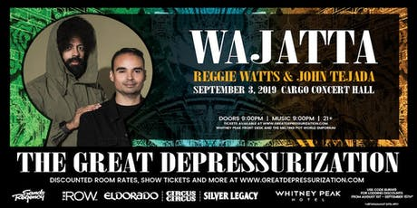 Wajatta (Reggie Watts and John Tejada) & Mikey Lion at Cargo Concert Hall tickets